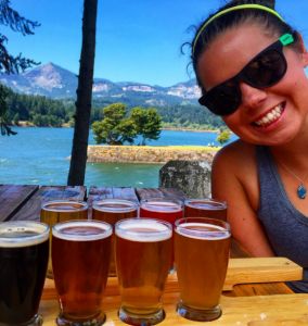 Jenna at Thunder Island Brewing